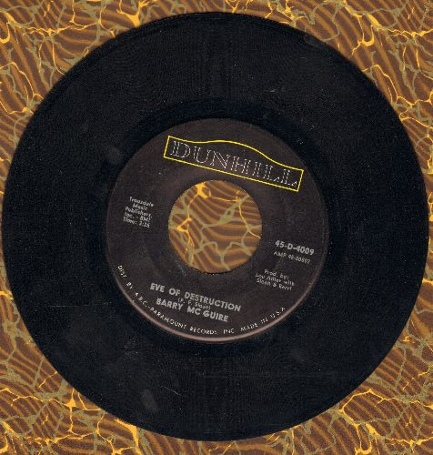 McGuire, Barry - Eve Of Destruction/What Exactly's The Matter With Me  - EX8/ - 45 rpm Records