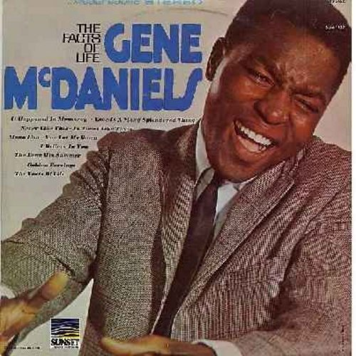 McDaniels, Gene - The Facts Of Life: Love Is A Many Splendored Thing, Mona Lisa, The Long Hot Summer (Vinyl STEREO LP record) - M10/EX8 - LP Records
