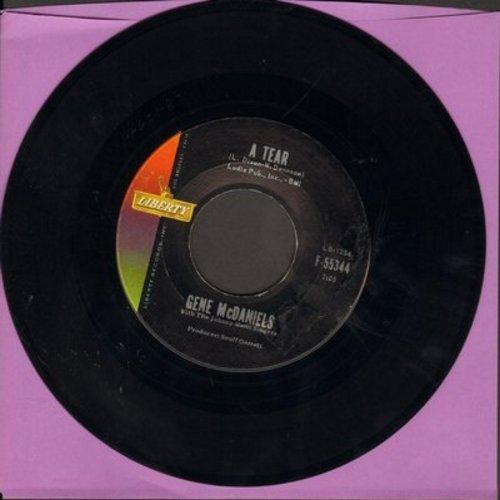 McDaniels, Gene - A Tear/She's Come Back  - NM9/ - 45 rpm Records