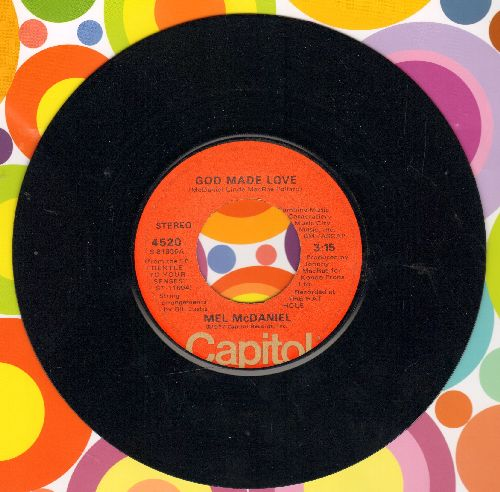 McDaniel, Mel - God Made Love/I'll Just Take It Out In Love - NM9/ - 45 rpm Records