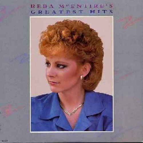 McEntire, Reba - Greatest Hits: Just A Little Love, Somebody Should Leave, Whoever's In New England, One Promise Too Late (Vinyl STEREO LP record) - NM9/NM9 - LP Records