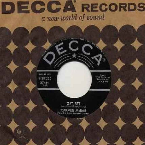 McRae, Carmen - Get Set/You Don't Have To Tell Me (with vintage Decca company sleeve) - EX8/ - 45 rpm Records