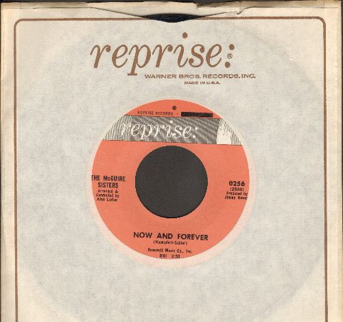 McGuire Sisters - Now And Forever/Never (with Reprise company sleeve) - NM9/ - 45 rpm Records