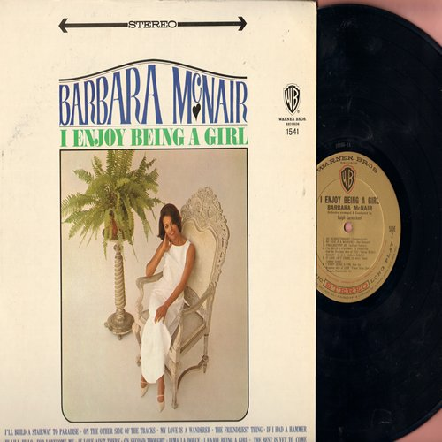 McNair, Barbara - I Enjoy Being A Girl: If I Had A Hammer, Hi-Lili Hi-Lo, Irma La Douce, The Best Is Yet To Come (Vinyl STEREO LP record) - NM9/EX8 - LP Records