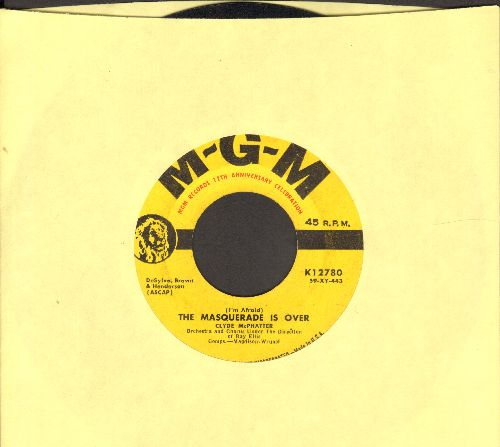 McPhatter, Clyde - The Masquerade Is Over/I Told Myself A Lie - VG7/ - 45 rpm Records