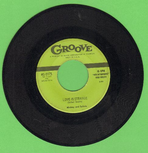 Mickey & Sylvia - Love Is Strange/I'm Going Home (first pressing) (minor wol) - VG6/ - 45 rpm Records