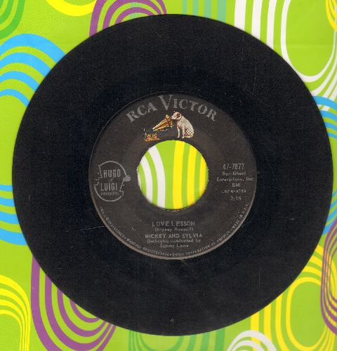Mickey & Sylvia - Love Lesson/Love Is The Only Thing  - VG7/ - 45 rpm Records