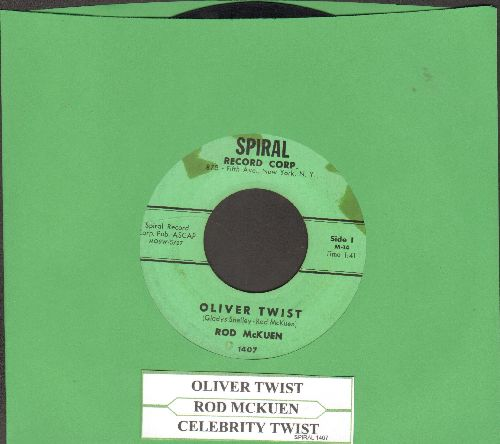 McKuen, Rod - Oliver Twist/Celebrity Twist (with juke box label) - VG7/ - 45 rpm Records