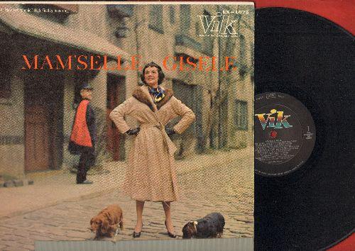 MacKenzie, Gisele - Mam'selle Gisele: C'est Si Bon, September In The Rain, La Vie En Rose, Cherry Pink And Apple Blossom White (vinyl MONO LP record) - EX8/G5 - LP Records
