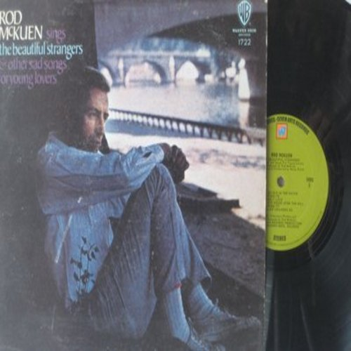 McKuen, Rod - The Beautiful Strangers & Other Sad Songs: Do You Know Me Maria?, Like Children Do, The House Upon The Hill (Vinyl STEREO LP record) - NM9/VG7 - LP Records