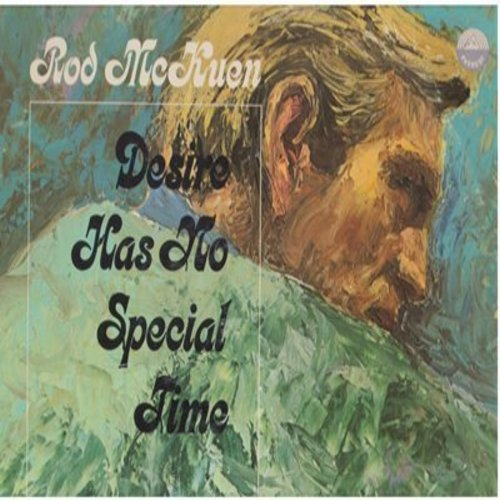McKuen, Rod - Desire Has No Special Time: Desire, Happy Time, The Sound Of Music, Holiday, Hudson Street, The Rock (Vinyl STEREO LP record) - NM9/EX8 - LP Records