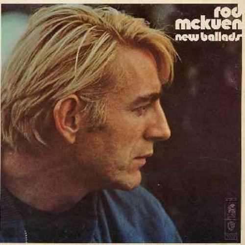 McKuen, Rod - New Ballads: Philadelphia, Gone With The Cowboys, Tomorrow And Today, Hit 'Em In The Head With Love, A While More With You, As I Love My Own, All I Need (Vinyl LP record) - NM9/EX8 - LP Records