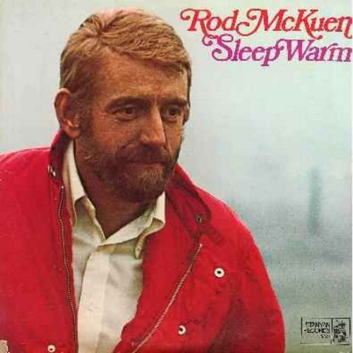 McKuen, Rod - Sleep Warm: Here There And Everywhere, And So Goodbye, Paint An Owl, You Are The Sunshine Of My Life, Will You Love Me Tomorrow?, I'm Almost There (2 vinyl LP record set, gate-fold cover - NM9/VG7 - LP Records