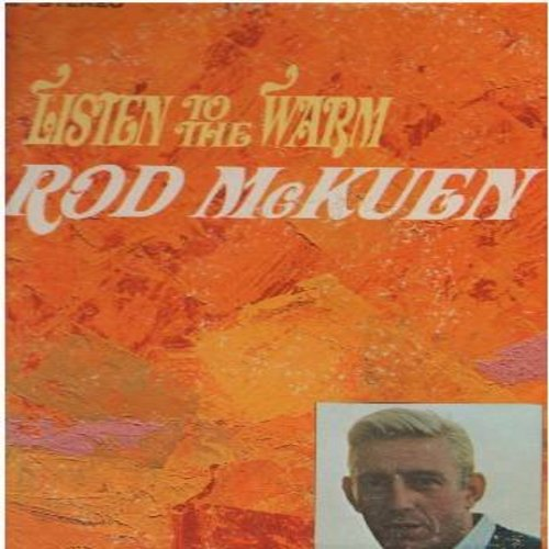 McKuen, Rod - Listen To The Warm: A Cat Names Sloopy, I'll Never Be Alone, It's Raining, Dandelion Days, The Singing In The Wind (Vinyl STEREO LP record) - EX8/VG7 - LP Records