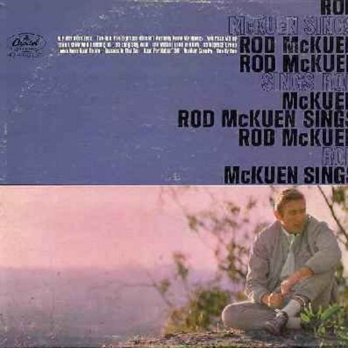 McKuen, Rod - Rod McKuen Sings Rod McKuen: Seasons In The Sun, Love's Been Good To Me, You Pass Me By, Good For Nothin' Bill, I Don't Know Who I Belong To (Vinyl MONO LP record) - EX8/VG7 - LP Records
