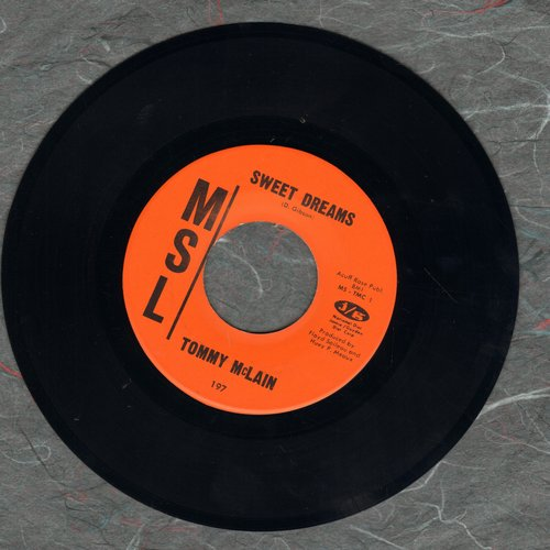 McLain, Tommy - Sweet Dreams/I Need You So  - VG7/ - 45 rpm Records