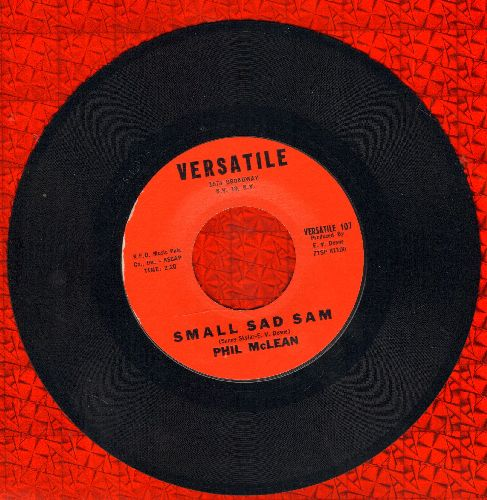 McLean, Phil - Small Sad Sam/Chicken  - EX8/ - 45 rpm Records