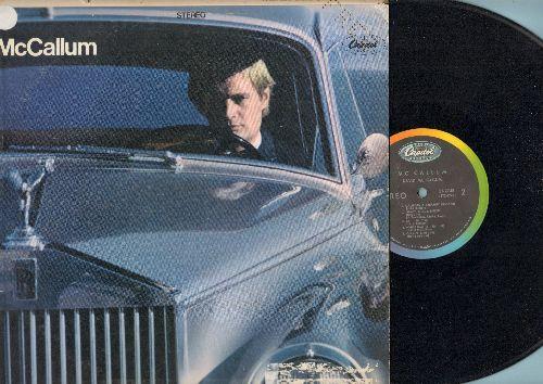 McCallum, David - McCallum: 98.6, I'm A Believer, Mellow Yellow, Penny Lane, California Dreamin', 59th St. Bridge Song (Vinyl STEREO LP record, FREE punch in upper right corner) - EX8/VG7 - LP Records
