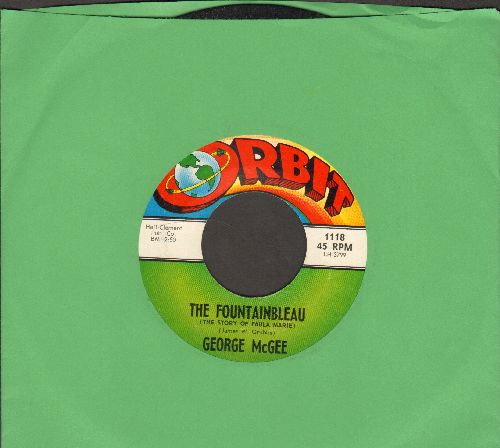 McGee, George - The Fountainbleau/The Things To Do Today - NM9/ - 45 rpm Records