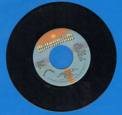 McLean, Don - Castles In The Air (double-A-sided DJ advance pressing) - NM9/ - 45 rpm Records