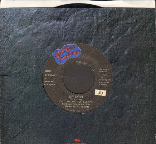 McCartney, Paul & Wings - My Love/The Mess - VG7/ - 45 rpm Records