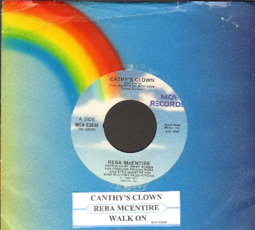 McEntire, Reba - Sunday Kind Of Love/So So So Long (with juke box label and MCA company sleeve) - NM9/ - 45 rpm Records