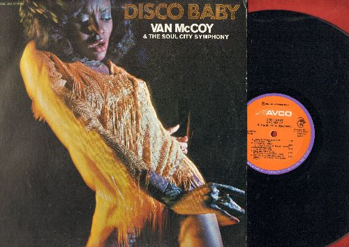 McCoy, Van - Disco Baby: The Hustle, Turn This Mother Out, Fire, Get Dancin', Doctor's Orders (Vinyl STEREO LP record) - NM9/EX8 LP Records