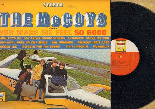 McCoys - The McCoys: You Make Me Feel So Good. Runaway, Drive My car, Every Day I Have To Cry Some, Sweets For My Sweet, Stagger Lee, C'Mon Let's Go (Vinyl STEREO LP record) - NM9/EX8 - LP Records
