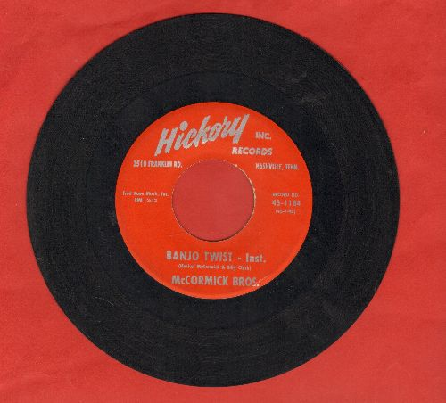McCormick Brothers - Banjo Twist/Lonesome For You - EX8/ - 45 rpm Records