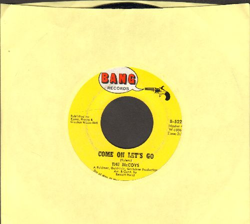 McCoys - Come On Let's Go/Little People  - EX8/ - 45 rpm Records
