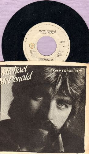 McDonald, Michael - I Keep Forgettin'/Losin' End (with picture sleeve) - NM9/NM9 - 45 rpm Records