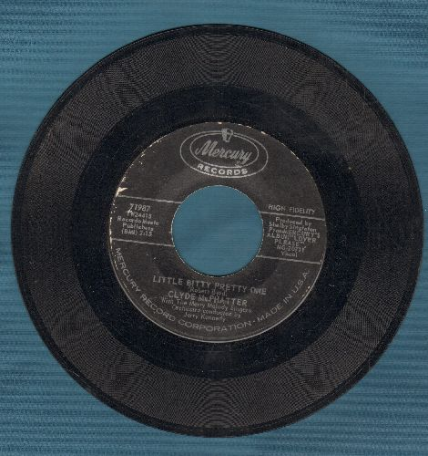 McPhatter, Clyde - Little Bitty Pretty One/Next To Me  - EX8/ - 45 rpm Records