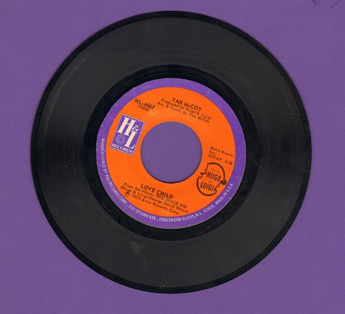 McCoy, Van - Love Child/Night Walk - EX8/ - 45 rpm Records