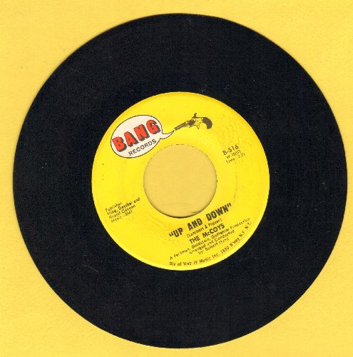 McCoys - Up And Down/If You Tell A Lie - NM9/ - 45 rpm Records