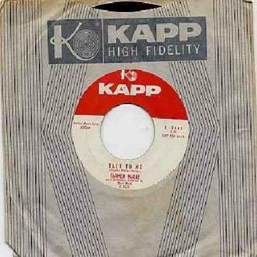 McRae, Carmen - Talk To Me/Show Me The Way (DJ advance copy with vinatage Kapp company sleeve) - NM9/ - 45 rpm Records