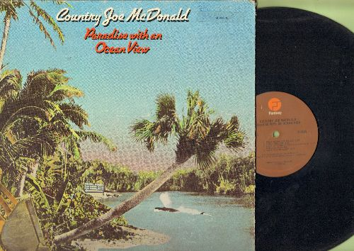 McDonald, Country Joe - Paradise With An Ocean View: Save The Whales!, Tear Down The Walls, Oh Jamaica, Breakfast For two (vinyl LP record, gate-fold cover) - EX8/VG7 - LP Records
