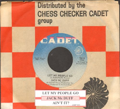 Mc Duff, Jack - Let My People Go/Ain't It (with juke box label and company sleeve) - NM9/ - 45 rpm Records