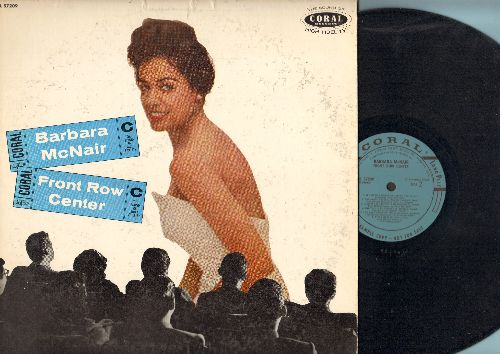 McNair, Barbara - Front Row Center: Whatever Lola Wants, My Heart Belongs To Daddy, Steam Heat, Hello Young Lovers (vinyl MONO LP record, RARE DJ advance pressing) - EX8/VG7 - LP Records