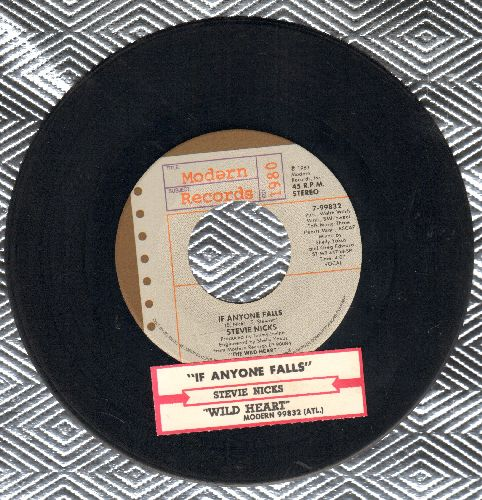 Nicks, Stevie - If Anyone Falls/Wild Heart (with juke box label) - NM9/ - 45 rpm Records