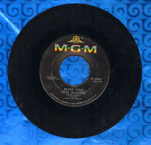 McPhatter, Clyde - Bless You/Let's Try Again  - VG7/ - 45 rpm Records