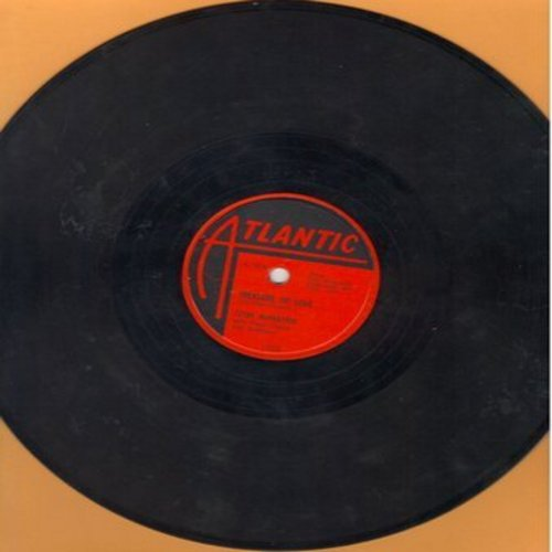 McPhatter, Clyde - Treasure Of Love/When You're Sincere (RARE 10 inch 78rpm record) - EX8/ - 78 rpm