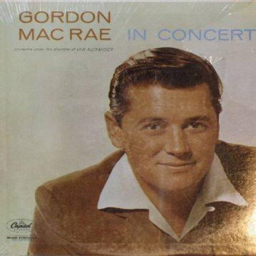 MacRae, Gordon - Gordon MacRae In Concert: So In Love, Ol' Man River, Summertime, Stranger In Paradise, Danny Boy (Vinyl MONO LP record, SEALED, never opened!) - SEALED/SEALED - LP Records