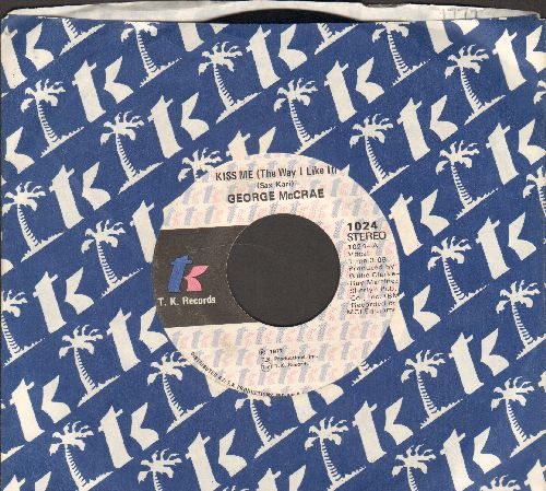 McCrae, George - Kiss Me (The Way I Like It) (Parts 1 + 2) (bb) - EX8/ - 45 rpm Records