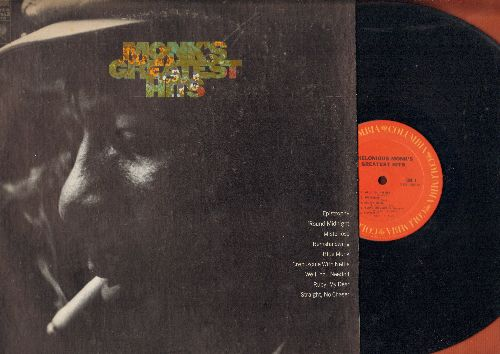 Monk, Thelonious - Monk's Greatest Hits: Epistrophy, 'Round Midnight, Blue Monk, Straight No Chaser, Misterioso (vinyl STEREO LP record) - EX8/EX8 - LP Records