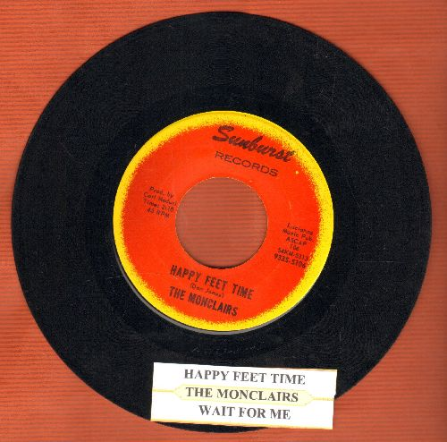 Monclairs - Happy Feet Time/Wait For Me (with juke box label) - NM9/ - 45 rpm Records