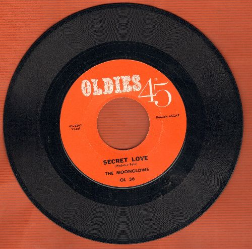 Moonglows - Secret Love/Real Gone Mama (double-hit re-issue) - NM9/ - 45 rpm Records