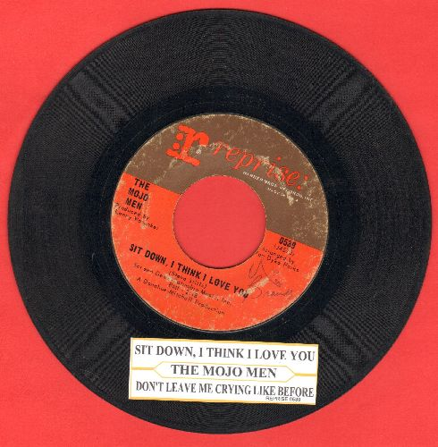 Mojo Men - Sit Down, I Think I Love You/Don't Leave Me Crying Like Before (with juke box label) - VG6/ - 45 rpm Records