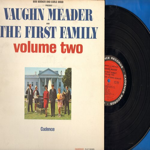 Meader, Vaughn - Vaughn Meader & The First Family Volume Two: More of those crazy parodies of life at the JFK White House (Vinyl LP record, Microgroove pressing) - NM9/EX8 - LP Records