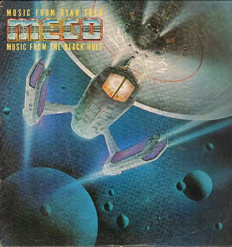 Meco - Music From Star Trek And The Black Hole (vinyl STEREO LP record) - EX8/EX8 - LP Records
