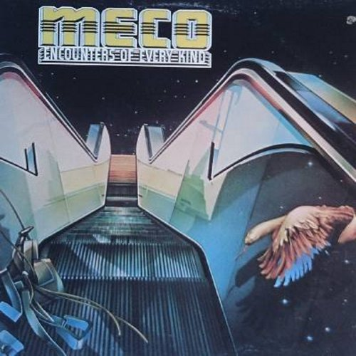 Meco - Encounters Of Every Kind: Theme From Close Encounters, Topsy, In The Beginning, Hot In The Saddle, Icebound, Meco's Theme/3 W. 57 (Vinyl LP record) - EX8/EX8 - LP Records